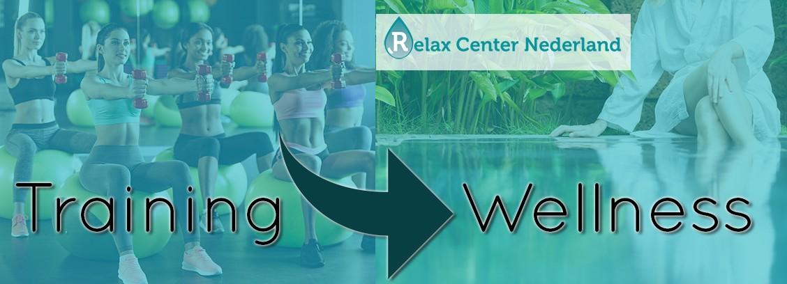 Fitness en krachttraining en daarna ontspanning bij relax center nederland