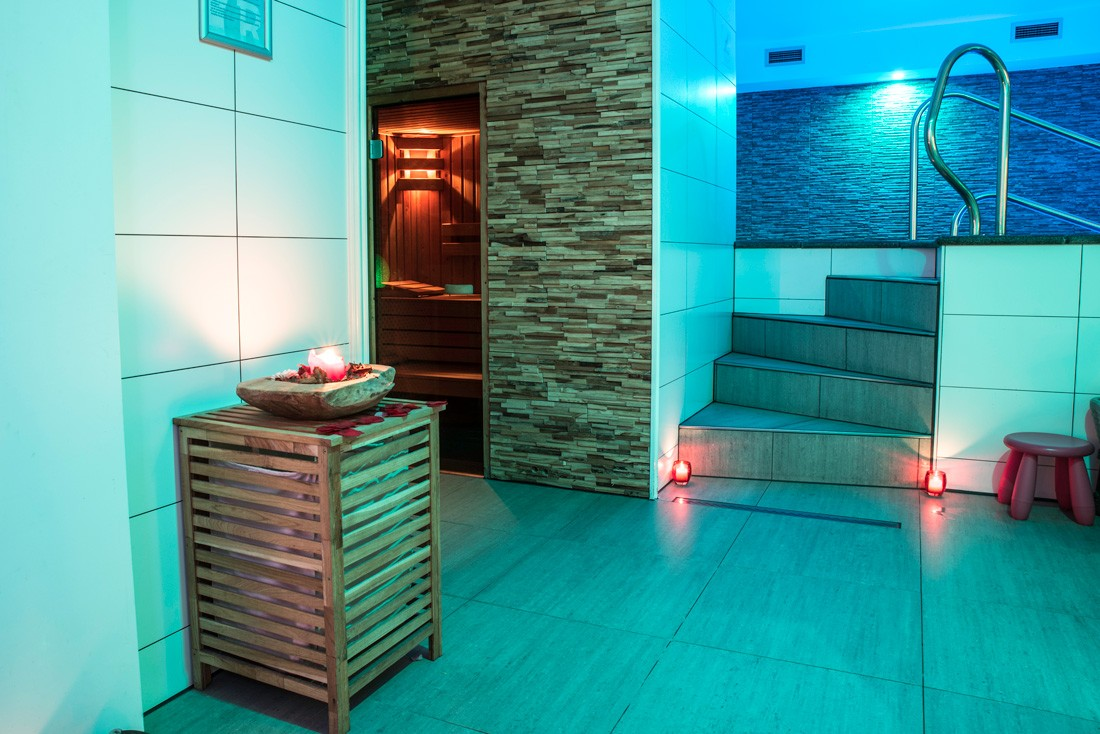 Sauna in relax center zaanstad