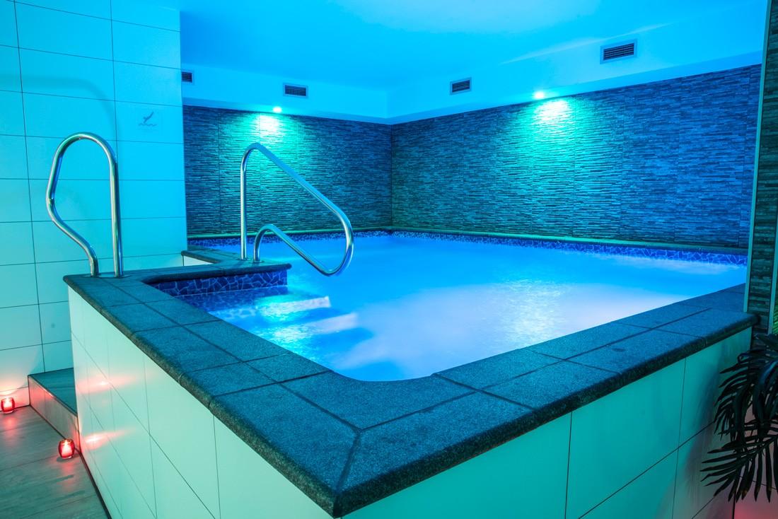 Privé wellness, met groot zwembad, sauna en jacuzzi