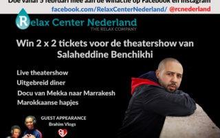 relax center nederland winactie