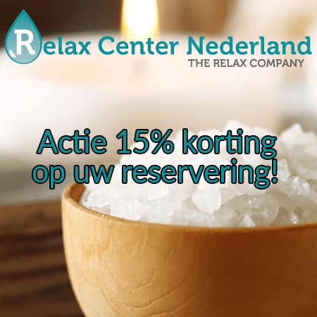 Relax Center Nederland actie