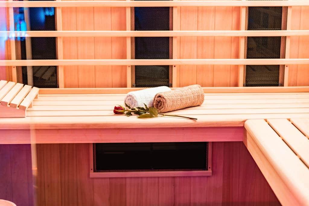 relax center zeist prive sauna romantische versiering